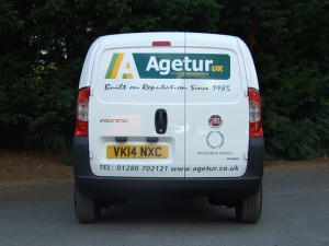 Agetur Van - Plant and Equipment